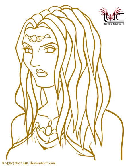Hera - Juno by roguephoenix on DeviantArt Hera Drawing Easy