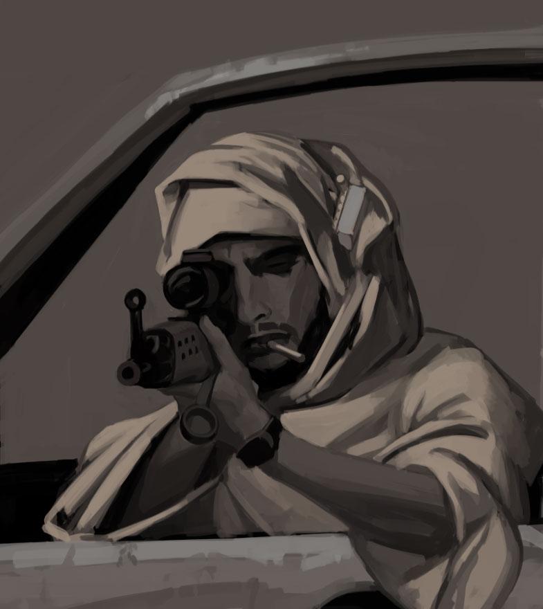 Arab-sniper