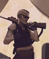Sniper by flurrys-art