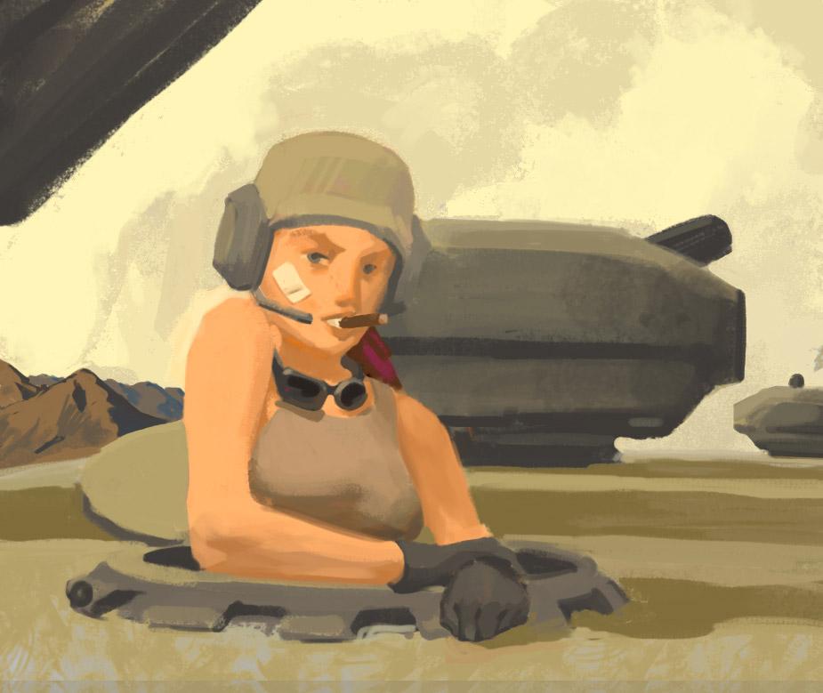 Bolo-tank-girl