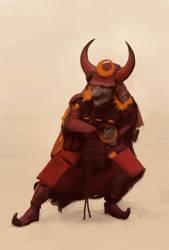 Hobgoblin-samurai by flurrys-art