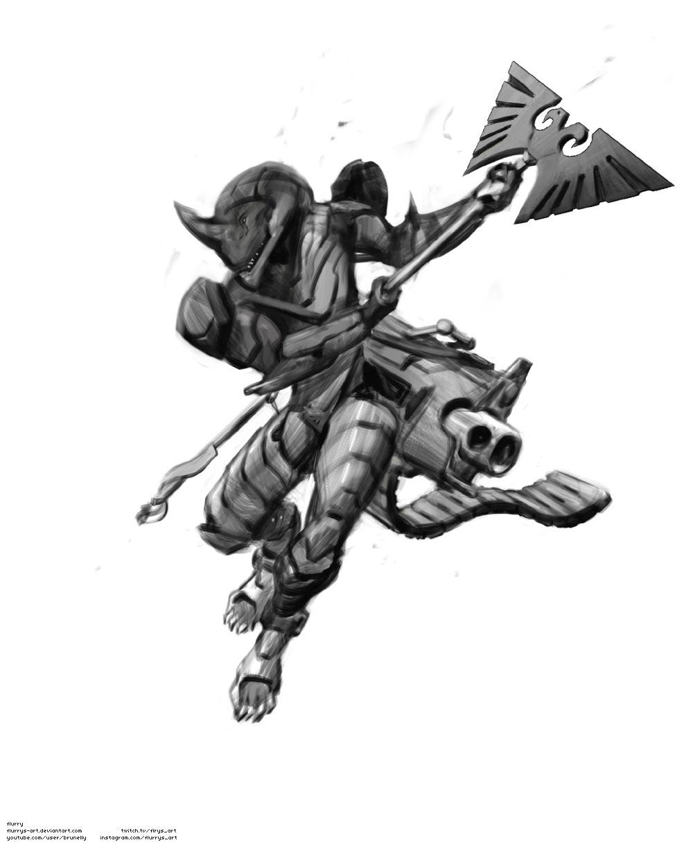 Tarellian Dog Soldier
