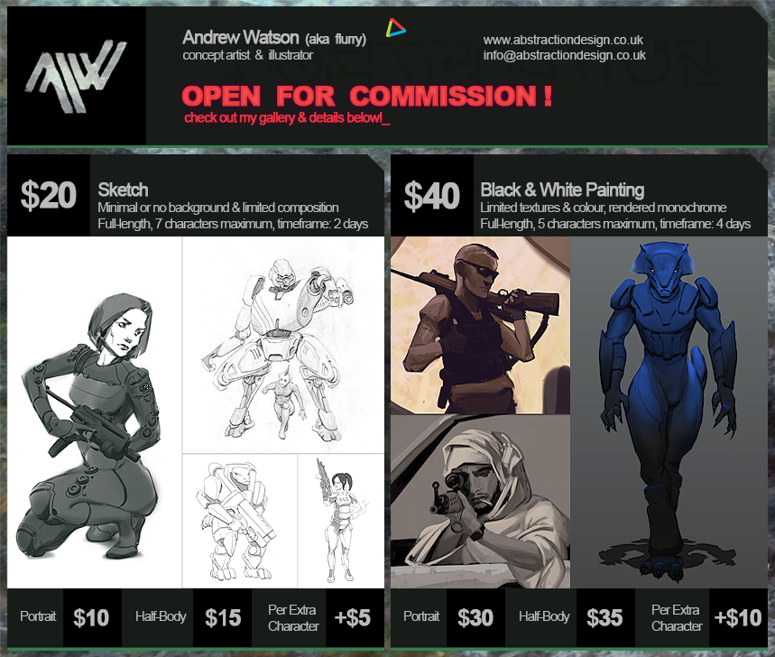 Da Commission Info Header by flurrys-art