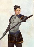 Samurai-latino by flurrys-art