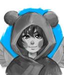 Commission sketch headshot