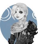 Sketch commission - Abelia