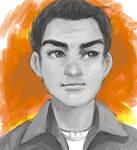 Commission - Headshot sketch