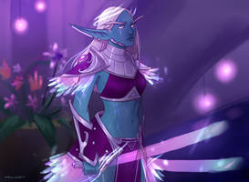 nightborne Niema by AntheiaVaulor