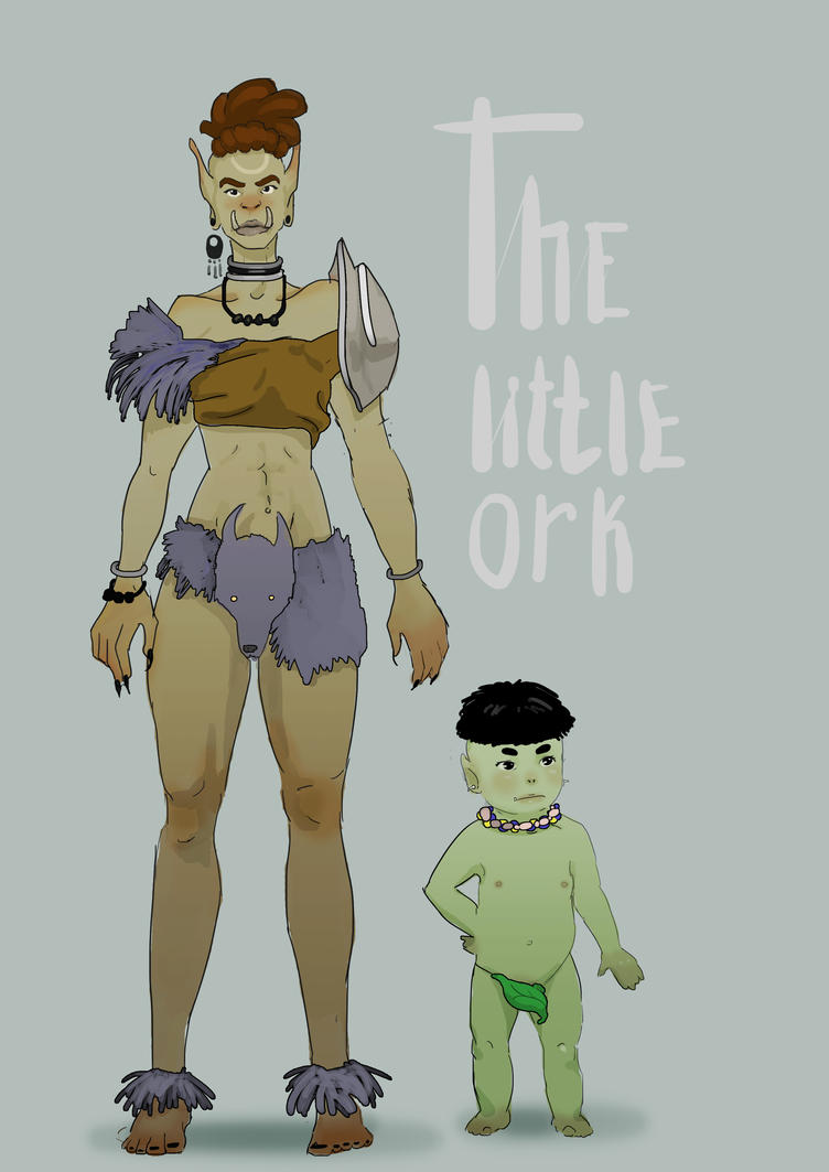 the little orc by PikaBOSS95