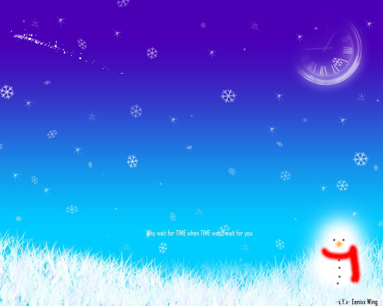 Time - Winter by Yao-Yao