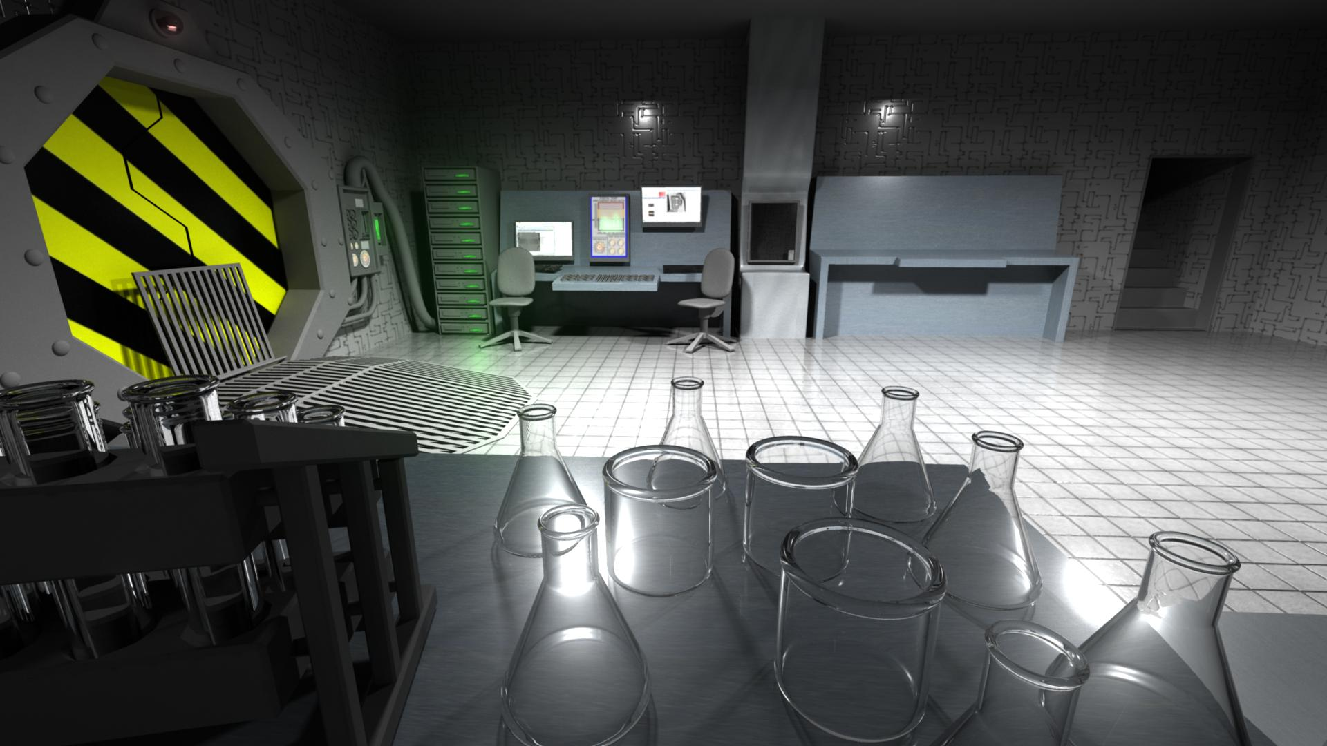 Danny Phantom Lab Still