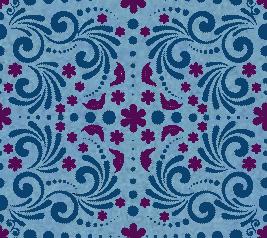 Frozen inspired seamless pattern by Bonbon88