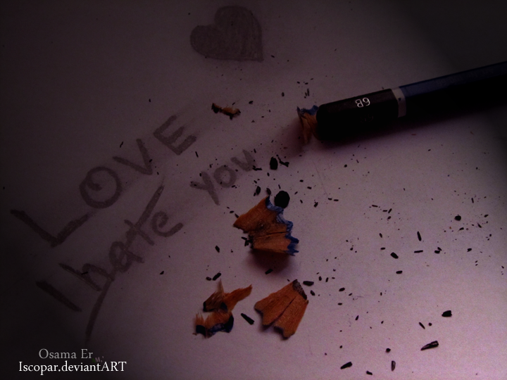 I Hate Love Wallpaper For Fb : I hate love by Iscopar on DeviantArt