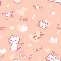 kitty pattern [f2u] by kokotea