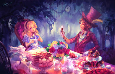 Rewritten AB: Alice in tea party land by kokotea