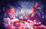 Rewritten AB: Alice in tea party land by kokotea