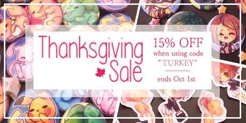 thanksgiving sale by kokotea
