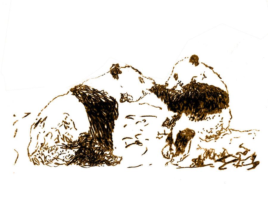 Pandas by VictorDrake