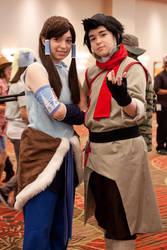 Korra and Mako by BalletGala