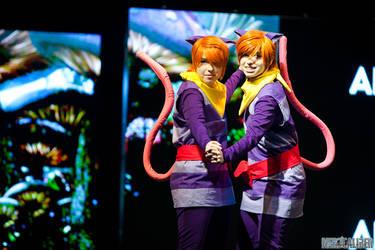 Hikaru and Kaoru in Wonderland by BalletGala