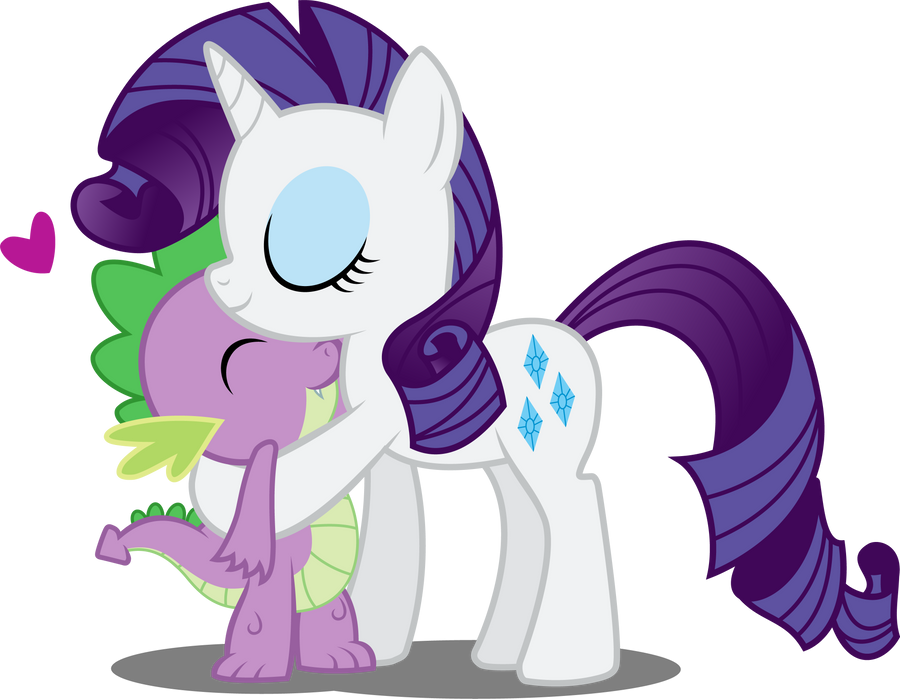Spike And Rarity By Abion47 On DeviantArt