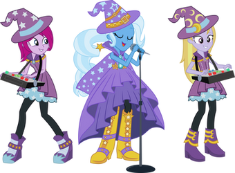 Trixie and the Illusions