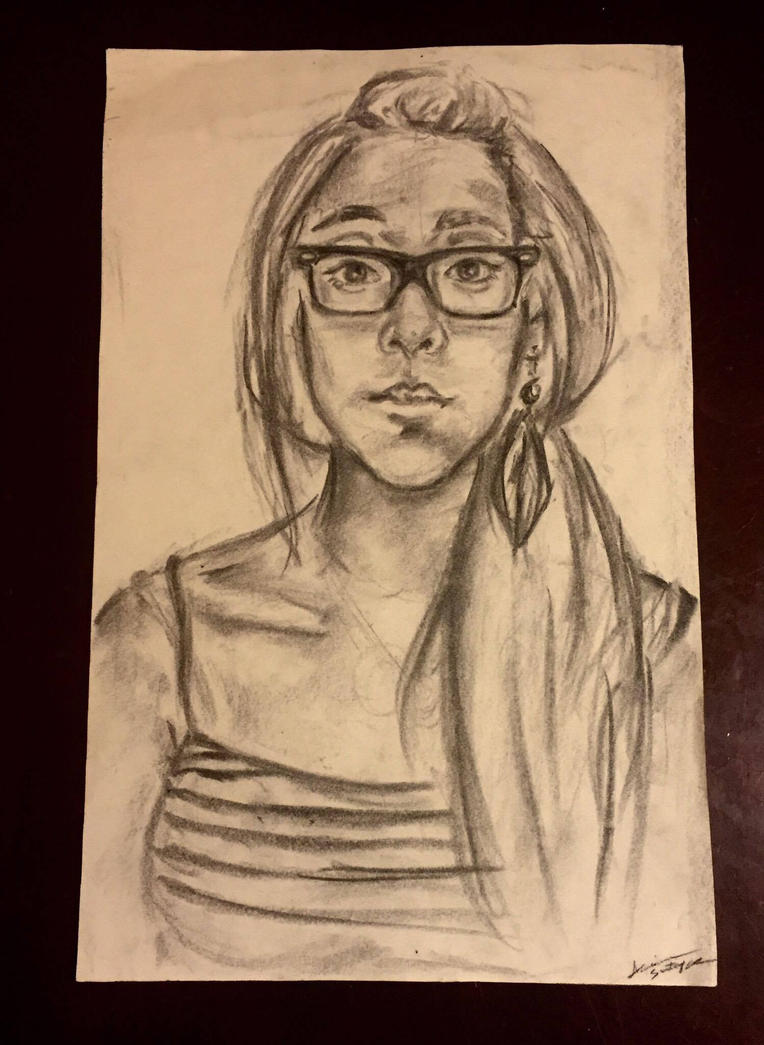 self portrait study by arrisanart