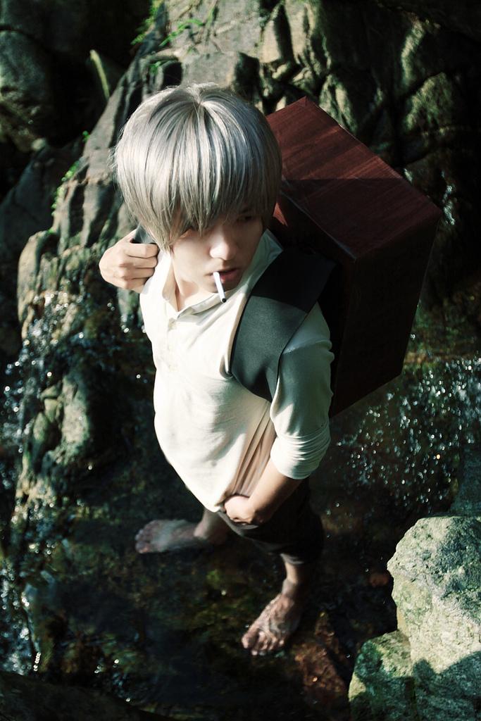 Mushishi - Ginko :: 02 by soulCerulean