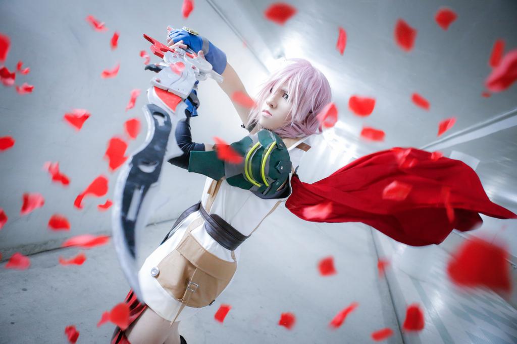 Final Fantasy XIII - Lightning :: 02 by soulCerulean
