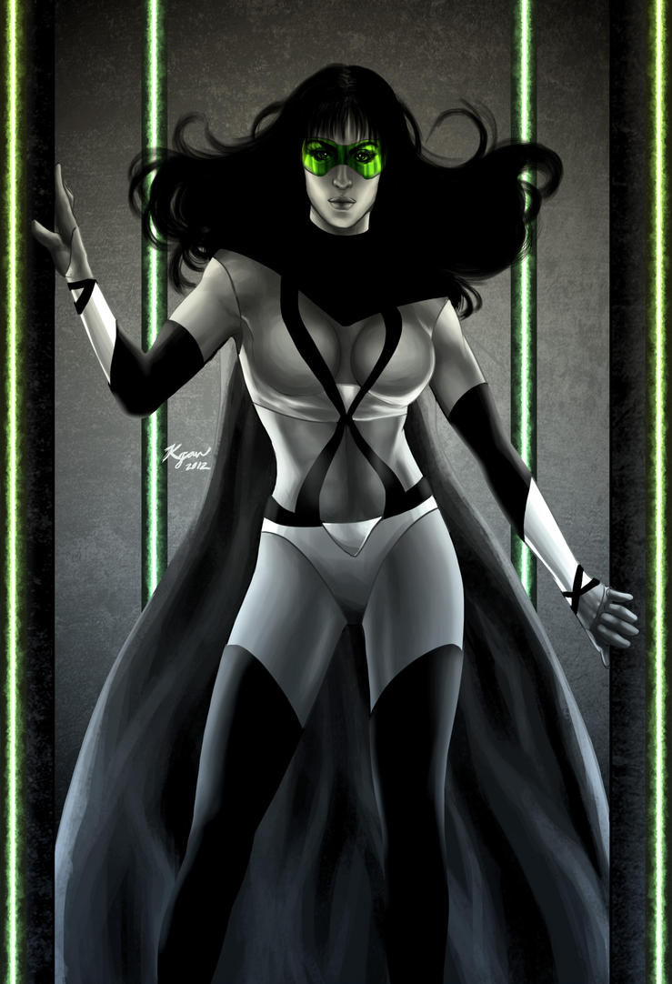 Phantom Lady -Freedom Fighter- by KGanArt