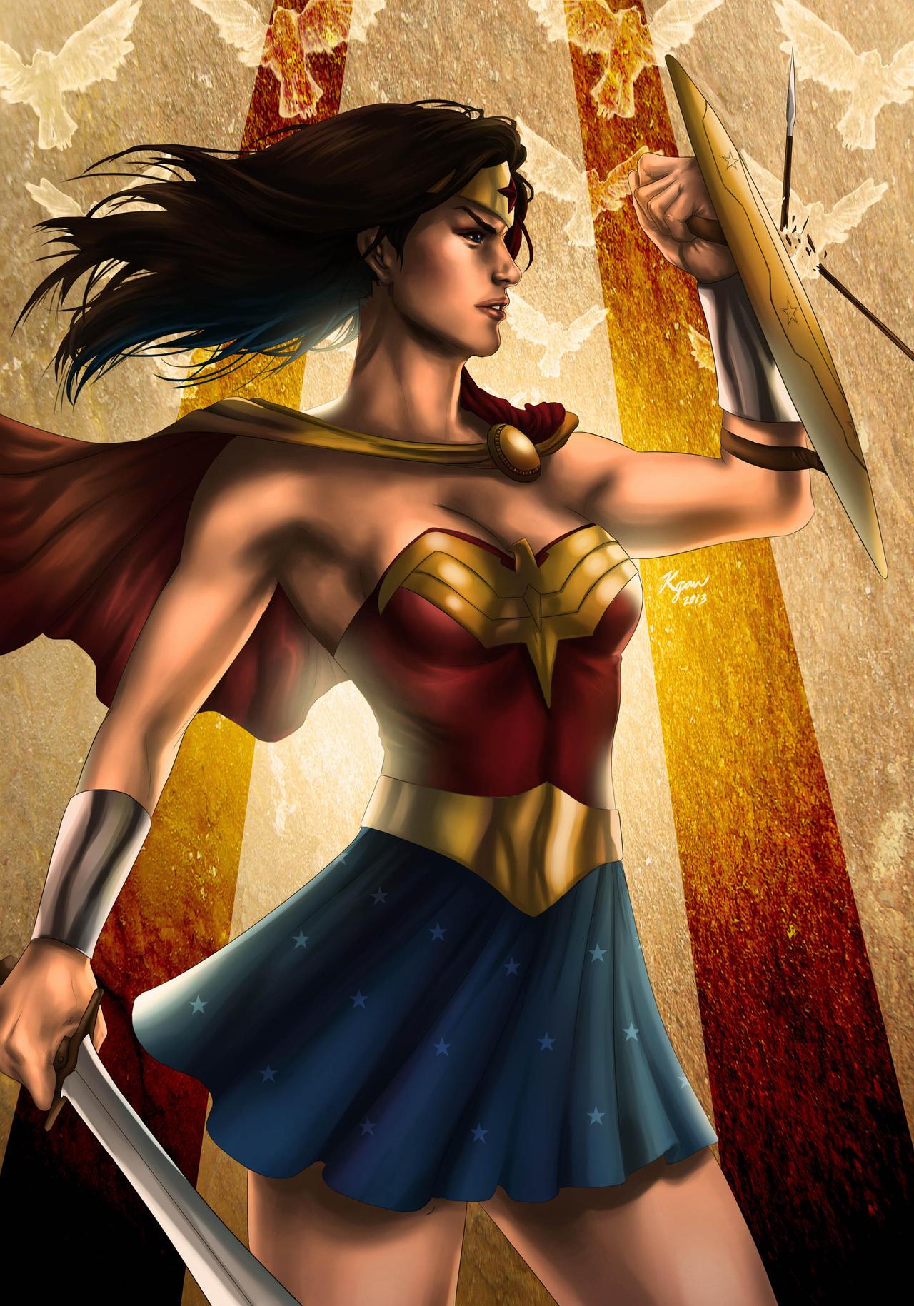 Wonder Woman -Legend- by KGanArt