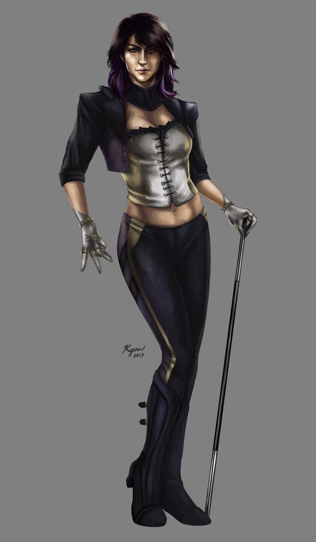 Zatanna -Injustice: Gods Among Us- by KGanArt