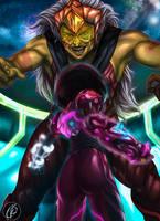Jasper vs Garnet -Steven Universe- by KGanArt