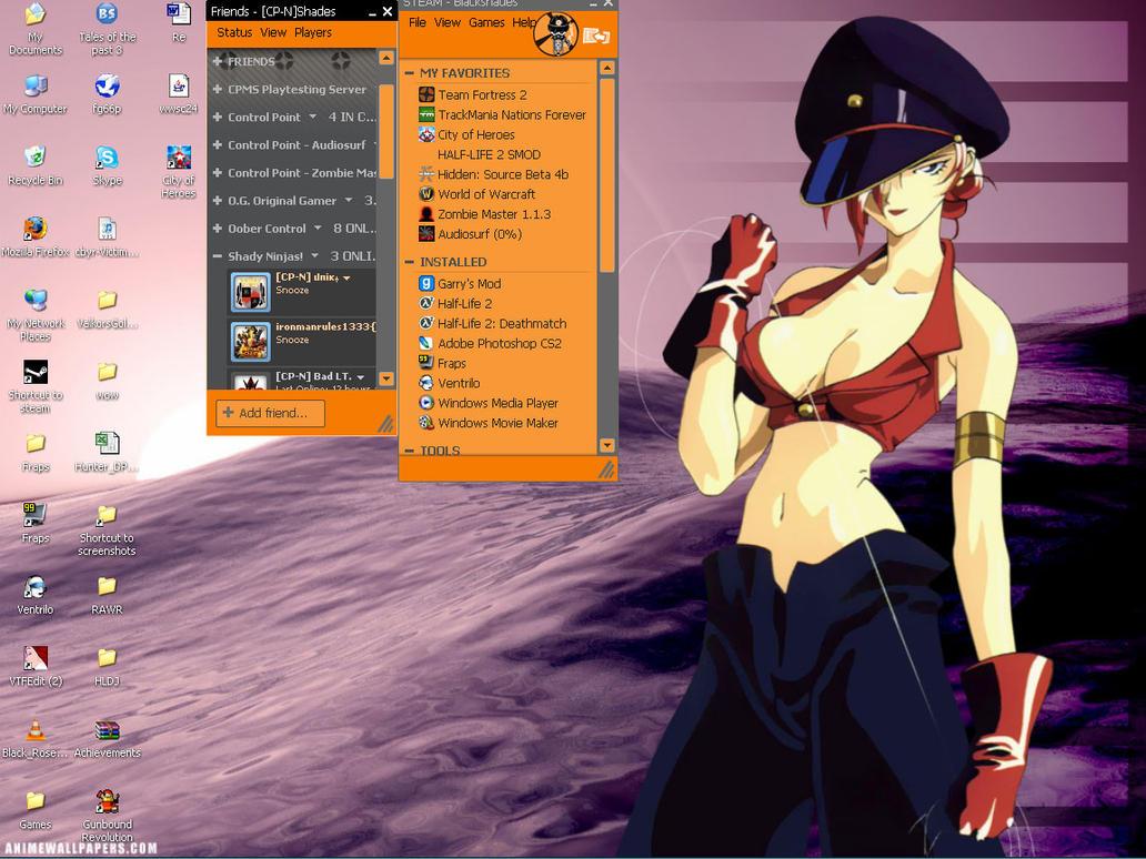 desktop by Blackshades