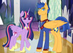 Parents - Twilight Sparkle and Flash Sentry