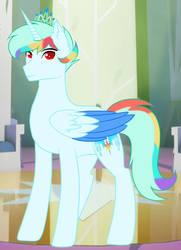 Water Rainbow Star by LightningArrowPL