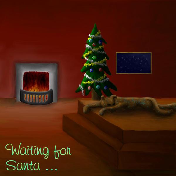 Waiting for Santa ... by shikafreekv