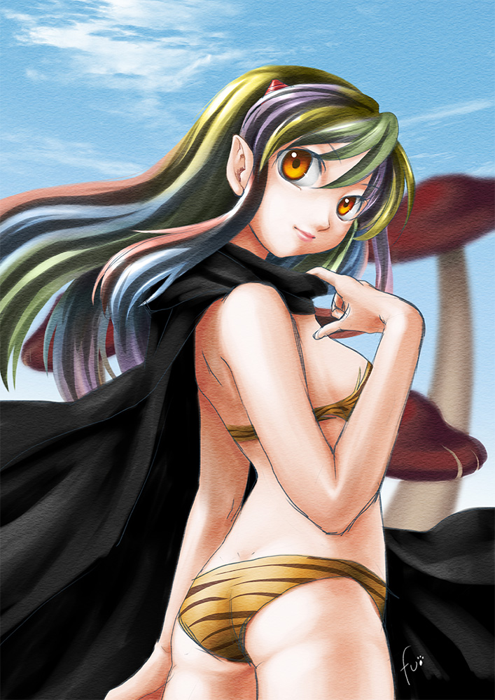 Lum in Black Cape by Fumiinu
