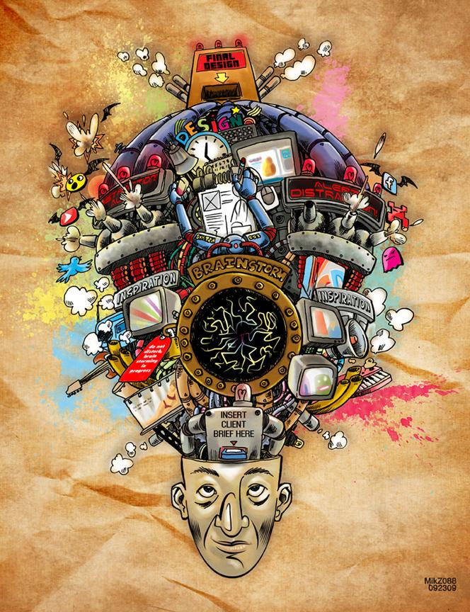 Em Professional Artist First Assignment Mind Mapping
