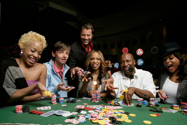 Hustle and Flow cast - Poker by LASMN on DeviantArt