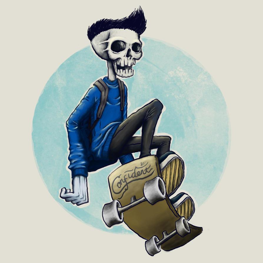 Skateboy by edwiniwde