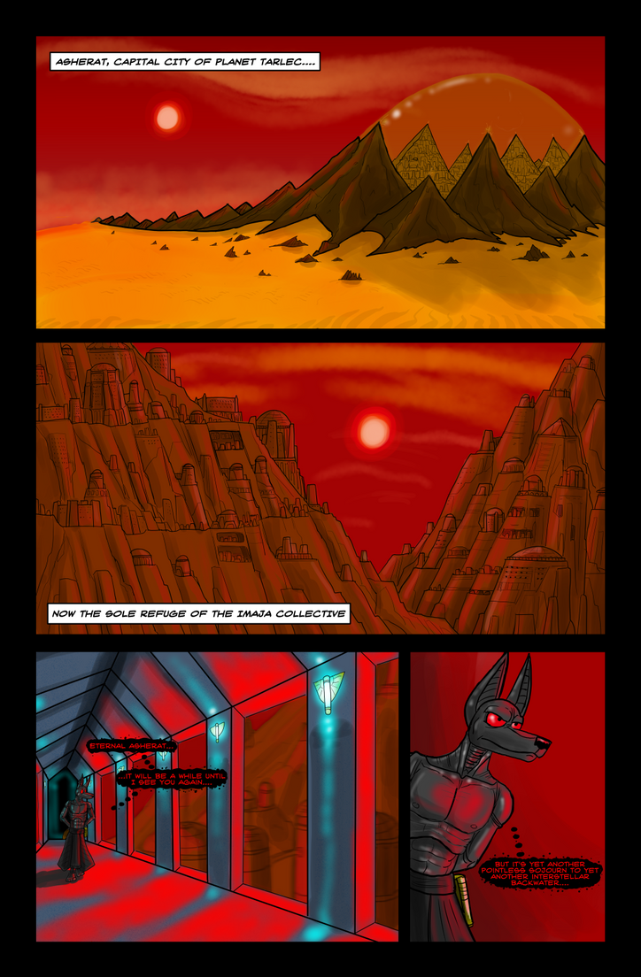 Ontogenesis, Page 1 by SeitoAkai