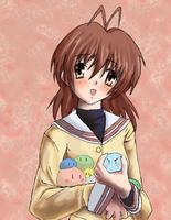 Nagisa in color by TealGuardian