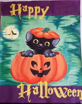 Happy Halloween -painting-