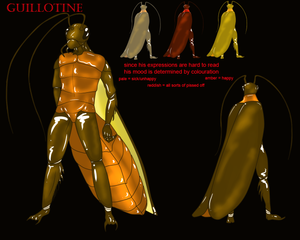 Guillotine Reference (My 'Sona)