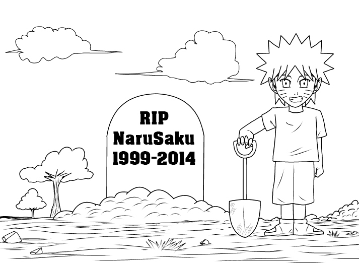RIP NaruSaku by Trunks777