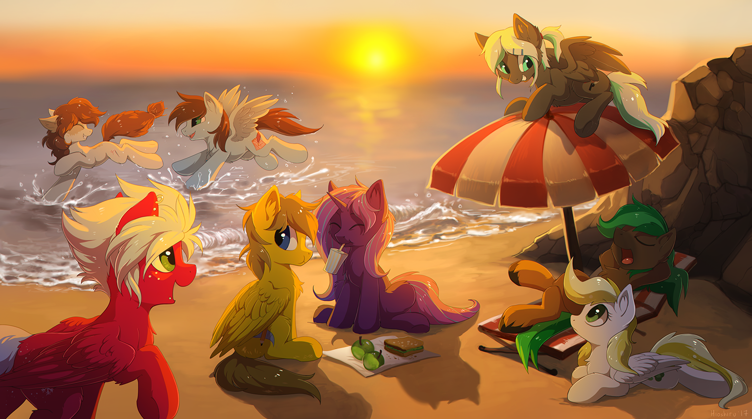 Beach by hioshiru-alter