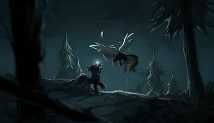 Skyrim ponies by hioshiru-alter