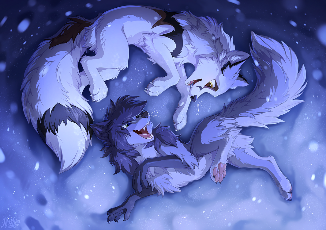 Covered in snow by hioshiru-alter