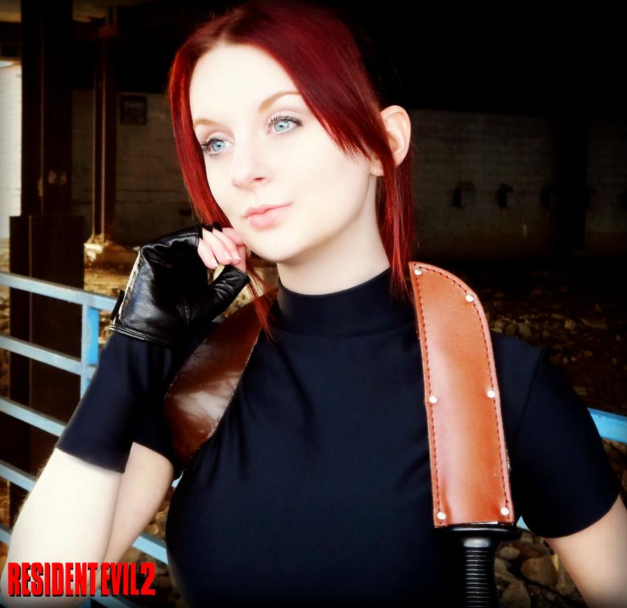 Survivor-Resident Evil 2 Claire Redfield Cosplay by Hamm-Sammich